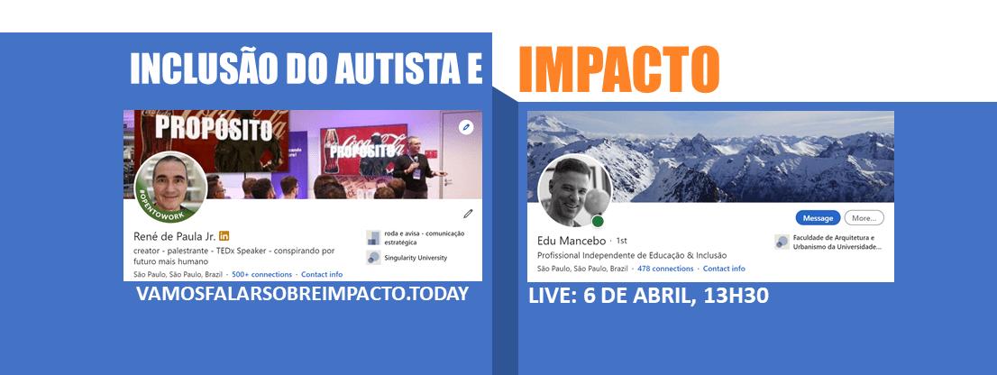 vamos falar sobre impacto com… Edu Mancebo!
